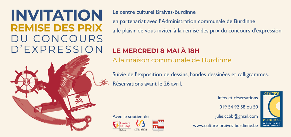 CCBB   Flyer concours expression 2019