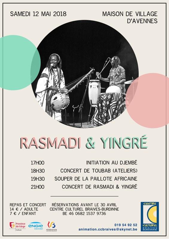 Centre culturel flyer djembé+logos
