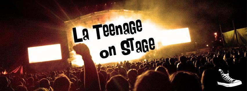 la teenage on stage