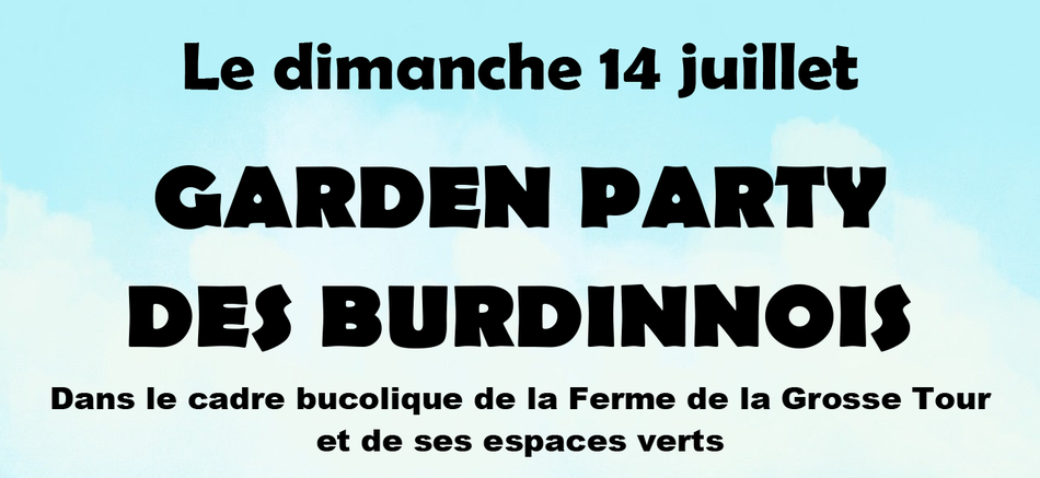 CCBB   Newsletter   garden party